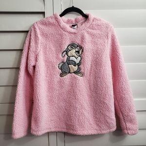 🌺Disney Thumper fluffy crewneck sweater/sleep